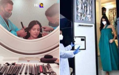 Anushka Sharma shares pic as she preps for shoot, proves it is work as usual during pregnancy