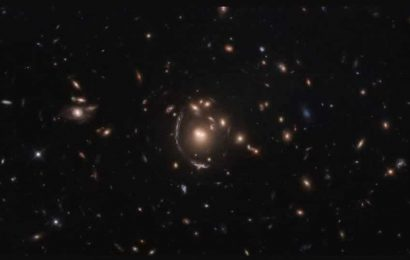 NASA shares picture of 'gravitational lensing'. It is intriguing
