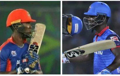 Fans troll Karachi Kings after Sherfane Rutherford dons Mumbai Indians' gloves in PSL