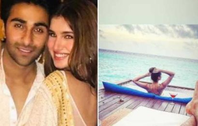 Aadar Jain enjoys a stunning view in the Maldives, is that Tara Sutaria in his latest post?