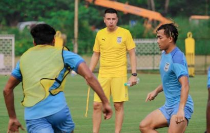 New coach Sergio Lobera aims to change Mumbai City FC fortunes