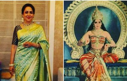 Hema Malini shares throwback pic dressed as a goddess as 14-year old: 'Wanted to add it in my biography, couldn't find the image then'