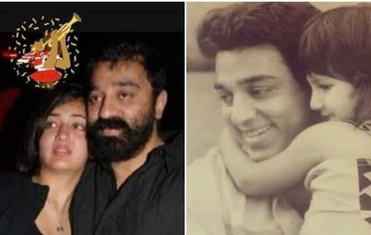 'Happy birthday to my baapuji': Shruti Haasan has a special wish for dad Kamal on his birthday, see their throwback pic