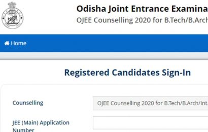 OJEE Counselling 2020:Round 1 seat allotment result declared at ojee.nic.in, here's direct link