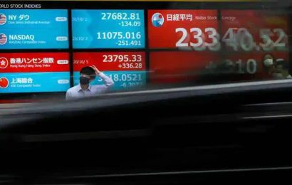 Nikkei hits over 2-year high on Wall Street boost, focus on final US election tally