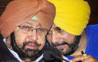In a bid to bridge the gulf, Amarinder Singh and Navjot Singh Sidhu meet over lunch