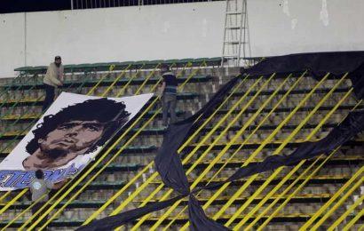 Brazilians mourn death of Argentinian archrival Maradona