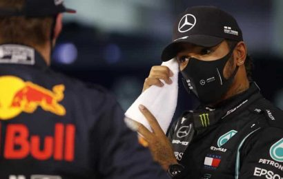 Lewis Hamilton takes pole position for Bahrain GP and 98th in F1
