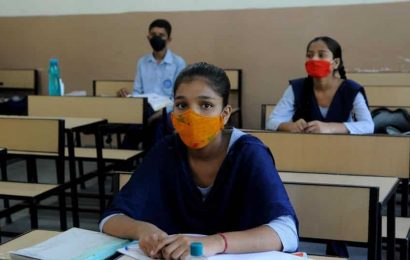 Government schools in Chandigarh reopen for Classes 9 to 12