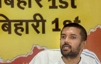 Will never support Nitish Kumar, Sushil Modi: Chirag Paswan