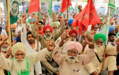 Trade unions call nationwide strike on Nov 26; support next week's farmers' agitation