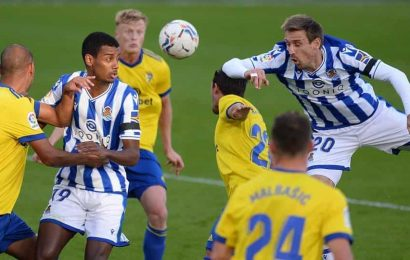 Real Sociedad stays in good form to take 3-point lead in Spain
