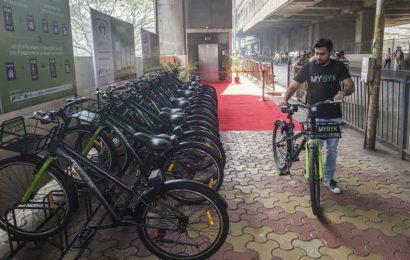 Mumbai: Bike-sharing facility suspended during lockdown resumes service again