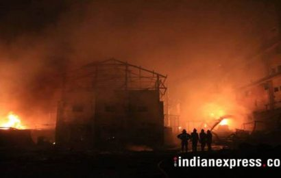 Fire breaks out in manufacturing unit at Ambala, worker injured, no casualties