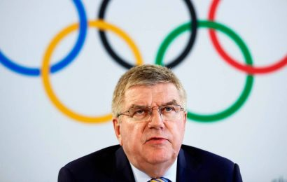 Thomas Bach comes to Tokyo as cheerleader for next year's Olympics