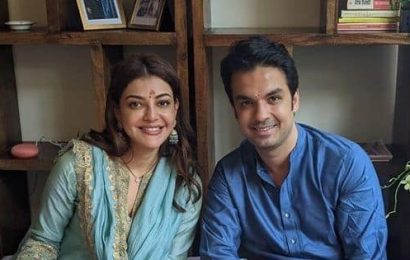 Kajal Aggarwal and Gautam Kitchlu celebrate first Karwa Chauth in their new home