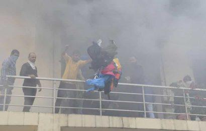 Blaze breaks out in Ludhiana clothing unit