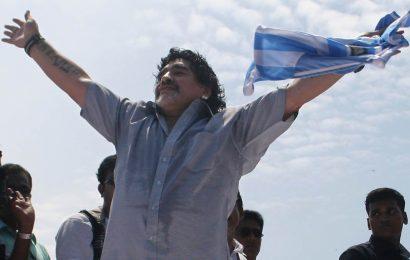 Football-crazy Kerala declares two day mourning for Maradona