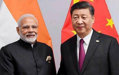 First time since border standoff, Modi, Xi on one platform
