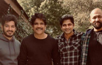 Nagarjuna wraps up shoot of Wild Dog; shares pics with Saiyami Kher and the cast