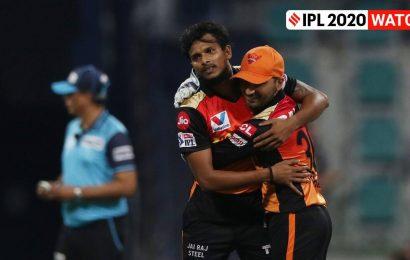 IPL 2020 Eliminator: T Natarajan stuns AB de Villiers with perfect yorker