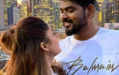 Happy birthday, Nayanthara: Vignesh Shivan posts breathtaking pictures of the 'Lady Superstar' on her special day