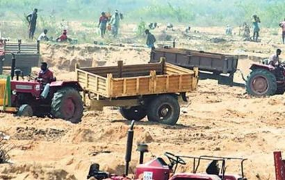 Pune rural police dispose of illegally mined sand worth Rs 1.2 crore