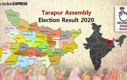 Tarapur (Bihar) Election Results 2020 Live: Winner, Runner-up