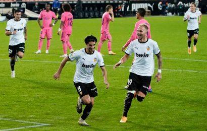 Carlos Soler bags rare treble of penalties as Valencia sink Real Madrid