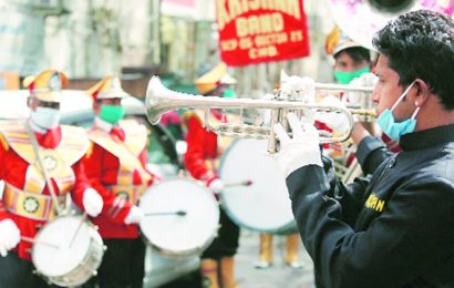 Bands face the music as UP govt lowers guests cap