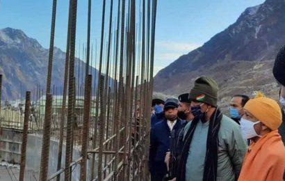 Adityanath visits Kedarnath ahead of closure ceremony for winter
