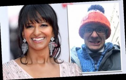 Ranvir Singh offers thermals to BBC rival Chris Mason as things get 'nippy' in Downing St
