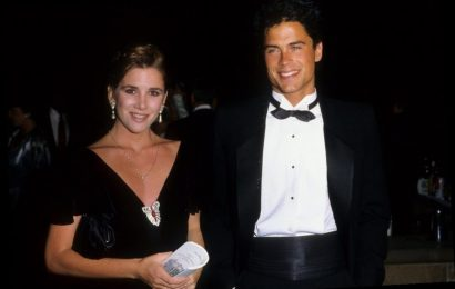 How Rob Lowe and Melissa Gilbert Made Their Relationship Work When They Lived With Their Families