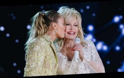 The Music Legend Miley Cyrus Reminds Dolly Parton Of