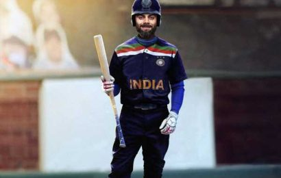 MLB gives 'baseball twist' to Team India's jersey
