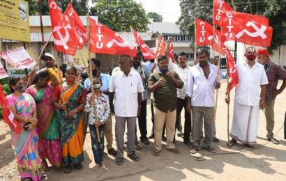 Aavin milk agents stage protest in Madurai, seek higher commission