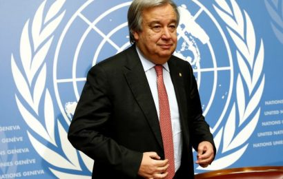 UN chief says will take COVID-19 vaccine publicly, calls it his 'moral obligation'