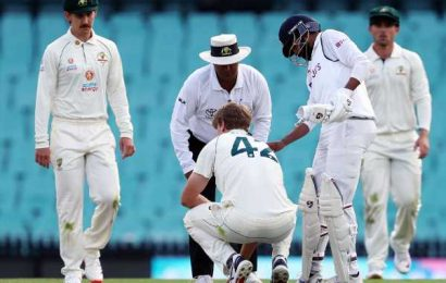 Tour match: Siraj praised as he attends to injured Green