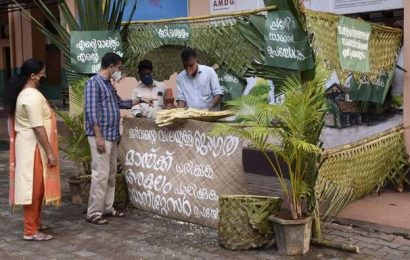 Green booths ready across Kozhikode district