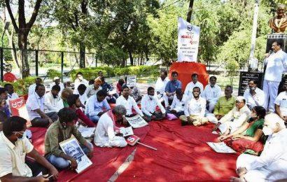 Withdrawal of farm Bills demanded