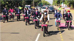 New bike sharing system garners 1k registrations, 200+ rides in two days
