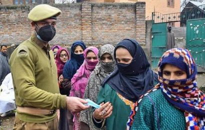 Voting for fourth phase of DDC polls in J&K today