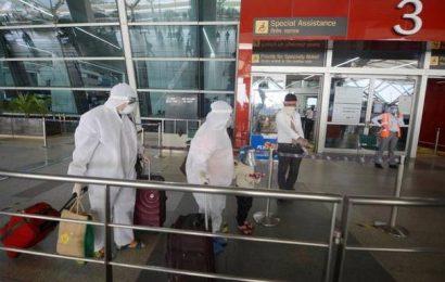 Coronavirus   Six passengers on London-Delhi flight test positive for COVID-19