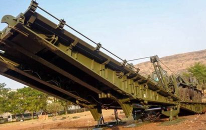 First three sets of DRDO-designed 10-metre-mobile bridge handed over to Army