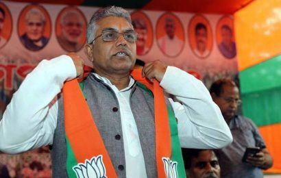 BJP was first to flag Majherhat repair hold-up: Dilip Ghosh