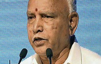 Congress demands removal of Yediyurappa as Karnataka Chief Minister