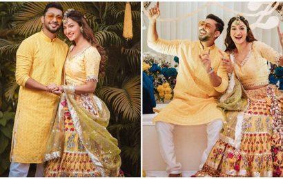 Gauahar Khan and Zaid Darbar's wedding festivities begin, see photos and videos