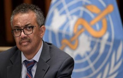 WHO chief speaks of 'personal pain' over Ethiopia conflict
