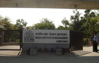 IIM-A had organised discussions with alumni on rebuilding dorms