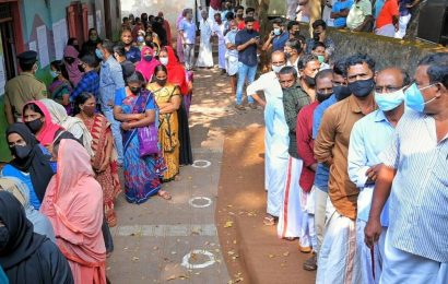 Final phase of Kerala local polls witness high turnout